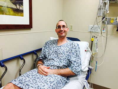 Me the morning of my catheter ablation procedure.