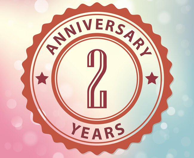 Happy Blog Anniversary!!